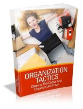 Buy Organization Tactics Ebook + 10 Free eBooks With Resell rights ( PDF )