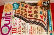 Buy Quilting Magazine with patterns Published 2008
