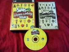 Buy Sims 2 HAPPY HOLIDAY STUFF PC DISC MANUAL ART & CASE NRMNT SHIP SAME DAY OR NEXT