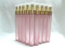 Buy 50 Empty Fragrance Perfume Glass Bottles Atomizer Spray Bottles Gold Caps 10 ml.