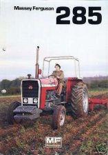 Buy MASSEY FERGUSON MF 285 MANUALs 100pgs w/ MF285 Tractor Operations Service Repair
