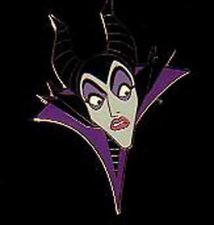 Buy Disney Maleficent Startled Auction Limited Edition on original card Pin/Pins