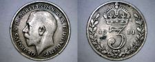 Buy 1911 Great Britain 3 Pence World Silver Coin - UK