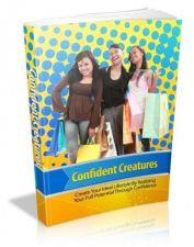 Buy Confident Creatures Ebook + 10 Free eBooks With Resell rights ( PDF )