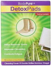 Buy Detox Foot Patches 10 Pack Detoxify Beauty Health Cleansing Purification Remedy