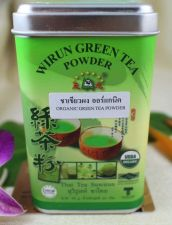 Buy Pure Organic Green Tea Powder Wirun OTOP Spa Relax Food Bakery Thai Skin Care