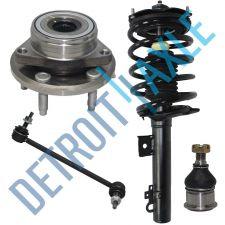 Buy Front Driver Side Ready Strut + Wheel Hub Bearing + Sway Bar + Ball Joint