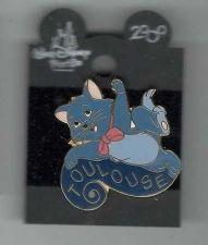 Buy Berlioz Name Error from Aristocats Disney Cat original backer card Pin/Pins