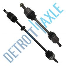 Buy Complete Front Driver and Passenger Side CV Axle Shaft - w/o ABS Exc. Si