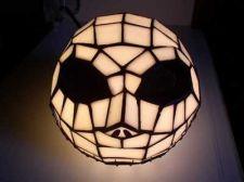 Buy Nightmare Be4 Christmas Tim Burton Disney Jack head Tiffney Style Lamp