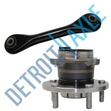 Buy 2 pc Set Kit NEW Rear Wheel Hub and Bearing w/ ABS + Lower Trailing Control Arm