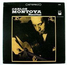 Buy CARLOS MONTOYA ~ Guitar Recital Stereo LP