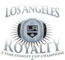 Buy Los Angeles Kings 2014 STANLEY CUP Champions Decal Sticker NHL ROYALTY