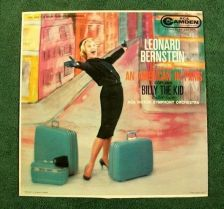 Buy LEONARD BERNSTEIN Conducts GERSHWIN / COPLAND 1960's Pop LP