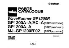 Buy Yamaha GP1200 Waverunner Parts & Views by download Mauritron #344087