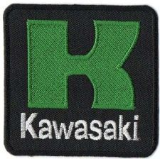 Buy KAWASAKI BIG BIKER LOGO SIGN, APPLIQUE IRON ON PATCH EMBROIDERED BADGE