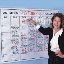 Buy Monthly Planner Large Wall Calendar Schedule Date Month Work Organizer Board New