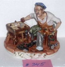 Buy CAPODIMONTE The Cobbler by Enzo Arzenton Laurenz Sculpture COA Italy COA 345