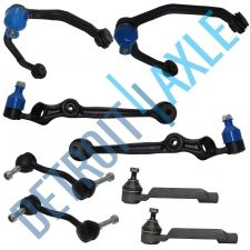 Buy 4 Front Control Arm Assembly and 2 Outer Tie Rod Ends + Stabilizer Bar Link Kit