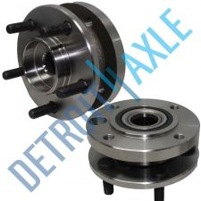 Buy Pair of 2 - NEW Front Driver and Passenger Wheel Hub and Bearing Assembly w/ 4WD