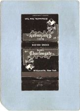 Buy New York Williamsville Matchcover Jacobbi's The Charlesgate Inc Restaurant~2433