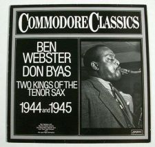 Buy BEN WEBSTER / DON BYAS ~ Two Kings of the Tenor Sax 1979 Jazz LP Imp Ger