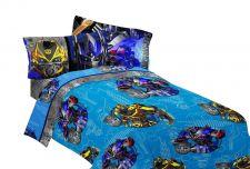 Buy Twin Comforter Reversible Transformer Alien Machine Boys Blue Novelty Free Ship