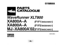 Buy Yamaha XLT800 Waverunner Parts & Views by download Mauritron #344121