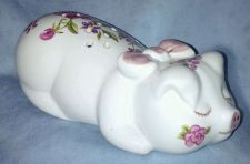 Buy Ceramarte/ Made in Brazil / Avon / Hand Decorated Pig / 1978 / Rare*