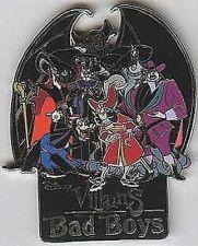Buy Villains - Bad Boys Disneyland DLR in original Box pin/pins