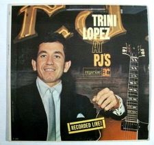 Buy TRINI LOPEZ ~ Trini Lopez At PJ's 1963 Pop LP Recorded Live!