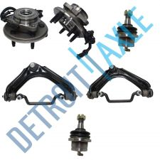 Buy Driver and Passenger Upper Control Arm, Wheel Hub Bearing ABS, Lower Ball Joint