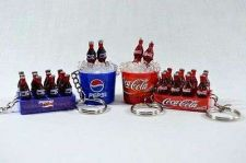 Buy PEPSI COLA VINTAGE COLLECTION SET MINIATURE DOLLHOUSE KEY-CHAIN