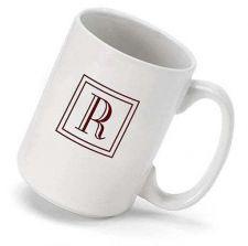 Buy Monogram Coffee Mug (15 oz.) - Free Personalization