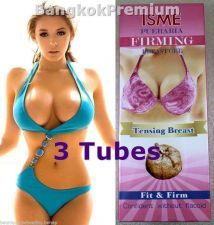 Buy 3x Pueraria Mirifica Breast Gel Cream Enlargement Tensing Fit Firm Aloe Collagen