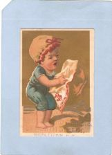 Buy New York Middletown Victorian Trade Card Adams & Weller Dry Goods And Carp~69