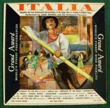 Buy ITALIA ** Performed by Luigi Chianti Hi-Fi LP
