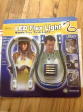 Buy LED Flex light x2 Hands-Free Task Light Battery's included /Two units USA Seller
