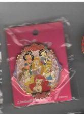 Buy Jasmine Belle Ariel Aurora Cinderella authentic Japan Disney pin/pins