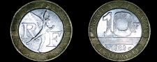 Buy 1989 French 10 Franc World Coin - France