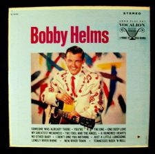Buy BOBBY HELMS ~ Someone Was Already There 1965 Rock / Pop LP