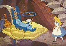 Buy Disney Alice Wonderland Caterpillar Lobby Card