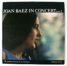 "Buy JOAN BAEZ ~ "" Joan Baez In Concert / Part 2 "" 1963 Folk/Pop LP"