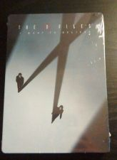 Buy The X Files I Want to Believe Best Buy Exclusive from 2008 3 Disc Steelbook