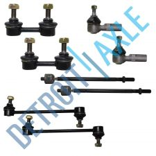 Buy NEW 8 pc Kit - 2 Front + 2 Rear Sway Bar Link + 2 Inner and 2 Outer Tie Rod Set