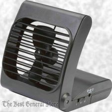 "Buy Small 7"" Battery Powered Portable Personal Folding Ultra Quite Fan 2 Speeds"
