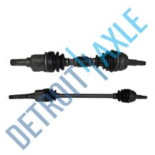 Buy Complete Front Driver and Passenger Side CV Axle Shaft - AT w/o ABS - USA Made