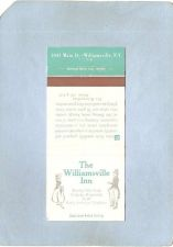 Buy New York Williamsville Matchcover The Williamsville Inn 5447 Main St w/Inf~2446