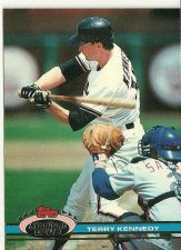 Buy Terry Kennedy Tops Stadium Club #91 Baseball Card 1991