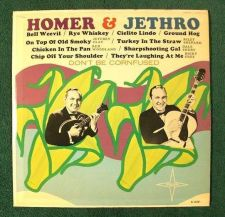 "Buy HOMER & JETHRO ~ "" Don't Be Cornfused "" Guest Star County LP"